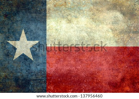 The lone star flag of the great lone star state - Texas