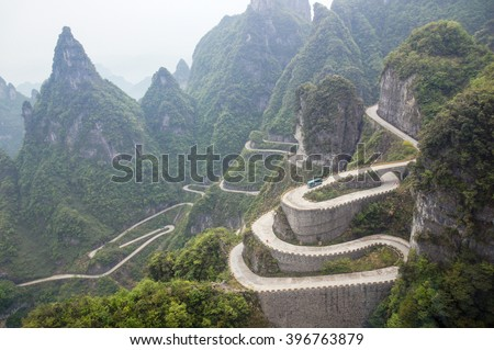 The long and winding road, China
