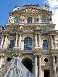 The Louvre, a subtle juxtaposition between modern and classic architecture