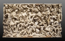 The Ludovisi Battle sarcophagus or