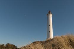 The Lyngvig Lighthouse in Hvide Sande, Denmark