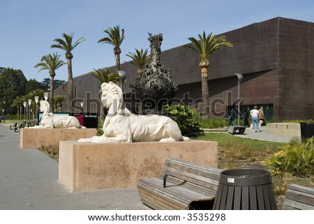 The M.H. de Young with Sphinx