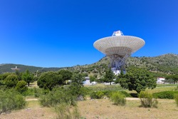 The Madrid Deep Space Communications Complex is a ground station located in Spain. It is part of NASA's Deep Space Network to communicate with spacecraft.