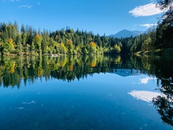 The magical Banjosa lake, Azad Kashmir, Pakistan