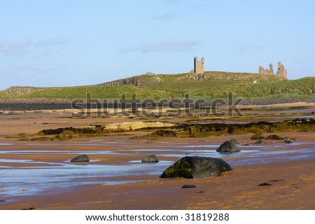 The magnificent coastline of Northumberland