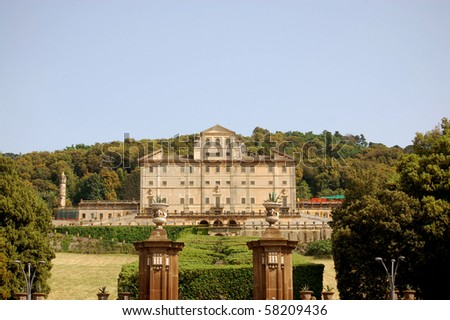 "The magnificent ""Villa Torlonia"" in Frascati hills of the ""Castelli Romani"""