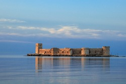 The maiden's castle (Kiz Kalesi) Mersin Turkey