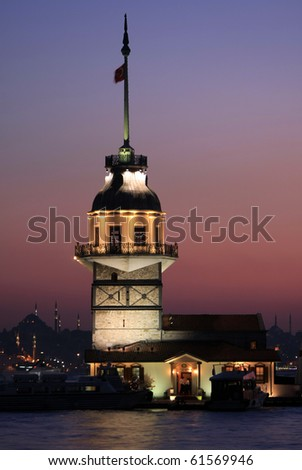 The Maiden's Tower in Istanbul-2010 European Capital of Culture
