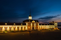 The main housing of the Artillery Court of Kazan Kremlin in Kazan, capital of Republic Tatarstan, Russia