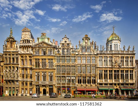 the main square of brussels ...