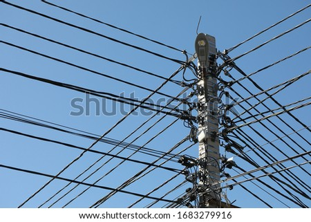 The mainstay of transmission lines with many wires is fiber optic internet.