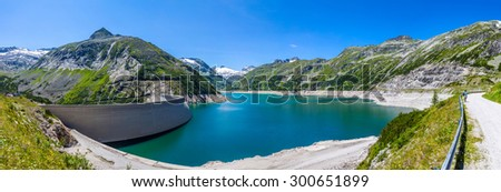 The Maltatal is the valley of the Malta River, Austria. Stock photo ©