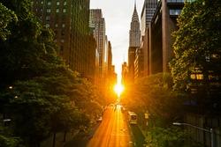 The Manhattan Henge