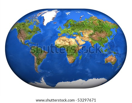 stock photo : The <b>mapa mundi</b>