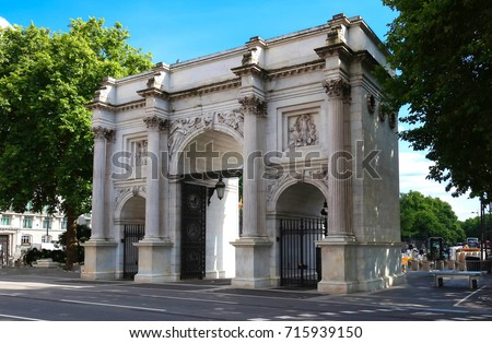 The Marble Arch , London,England. #715939150
