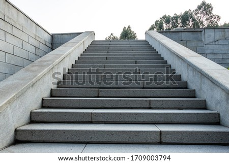 The marble steps of the stairs. Сток-фото ©