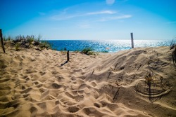 The Marconi Beach in Cape Cod National Seashore, Massachusetts