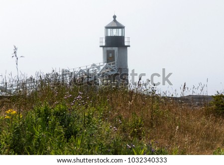 the marshall point lighthouse...