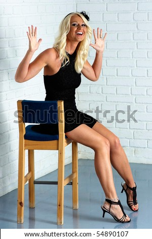 stock photo the mature blonde on high heels 54890107 makeup at 2011 Teen Choice