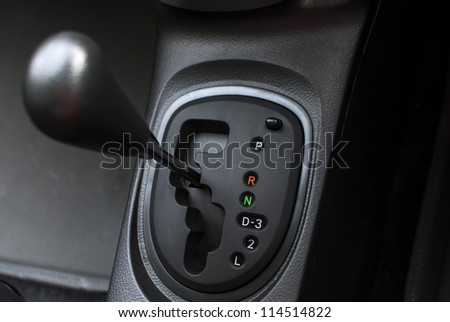 The mechanism of switching modes of automatic transmission car