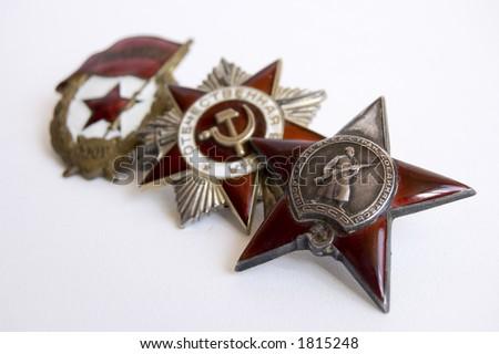 The medal of soviet heroes