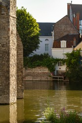 The medieval Gravensteen (