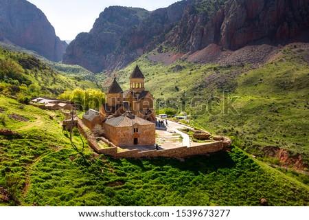 The medieval monastery of Noravank in Armenia