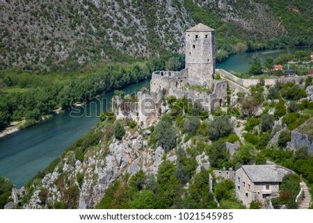 the medieval town of pocitelj ...