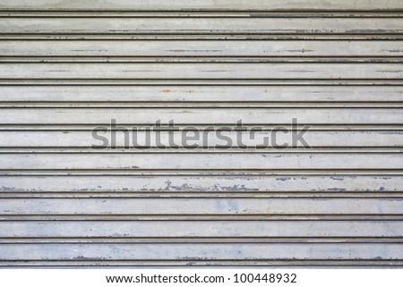 The metallic pattern of industrial gate