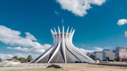 The Metropolitan Cathedral of Brasília