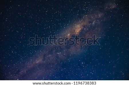 The Milky Way - Capturing the night sky from Soldiers Beach in Norah Head, Wyon the Central Coast, NSW, Australia. #1196738383