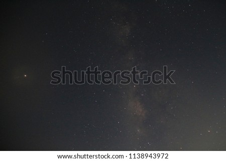 The Milky Way  iso 3200 exposure for 20 sec, take pic in south of Israel in 07/21/2018
