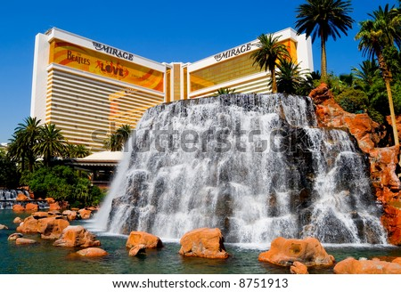 The Mirage Casino/Hotel in Las Vegas