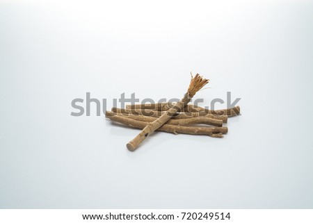 The miswak isolated white background #720249514