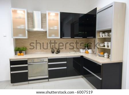 Kitchen Remodeling Photos on The Modern Kitchen Interior Design Photo   6007519   Shutterstock