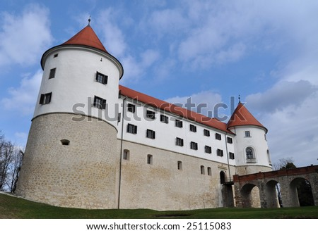 The Mokrice castle in Slovenia