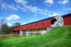 The Montrose Covered Bridge, Ontario, Canada
