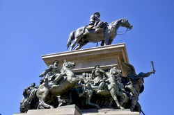 The Monument to the Tsar Liberator is an equestrian monument in the centre of Sofia, the capital of Bulgaria.