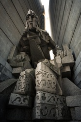 The Monument to 1300 Years of Bulgaria, also known as the Founders of the Bulgarian State