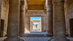 The Mortuary Temple of Seti I is the memorial temple of the New Kingdom Pharaoh Seti I. It is located in the Theban Necropolis in Upper Egypt, across the River Nile from the modern city of Luxor.