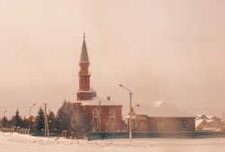 The mosque in the Bashkir settlement