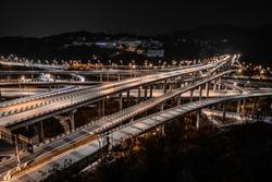 The most complex overpass in the world, Chongqing Huangjuewan Overpass.