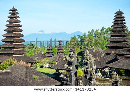 The Mother Temple of Besakih, or Pura Besakih is the most important, the largest and holiest temple of Hindu religion in Bali