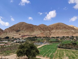 The Mount of Temptations of Jesus in Jericho, Israel, Palestinian Authority
