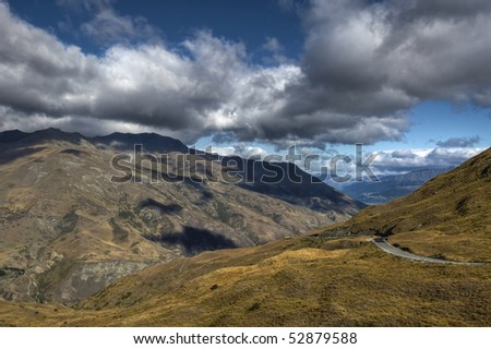 The Mountains near Queenstown, New Zealand