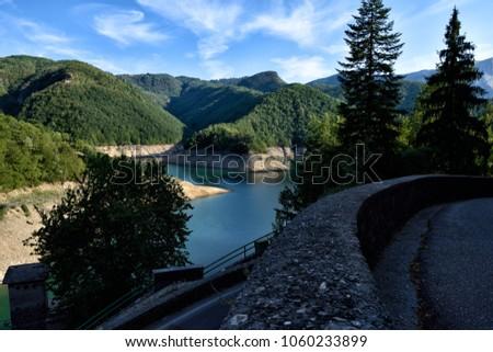 The mountains of Tuscany, paradise is next , Garfagnana Lucca, Tuscany, Italy #1060233899