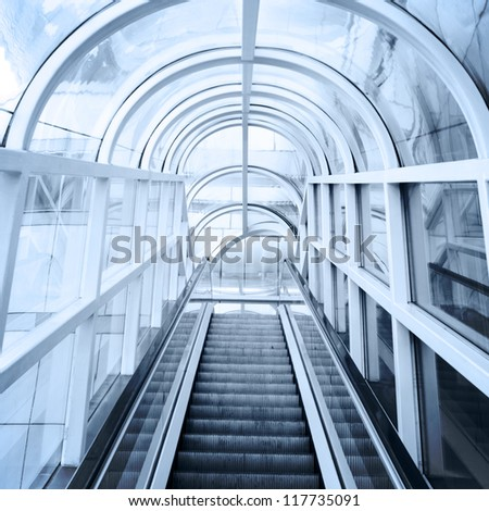 the moving escalator