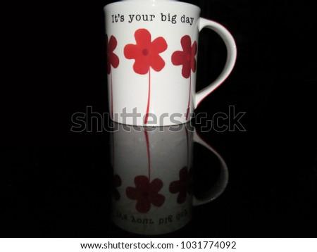 The mug with the shadow.                              #1031774092