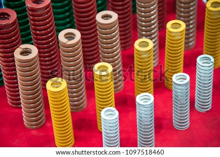 The multi-size of  industrial coil spring  .The  coil spring for industrial purpose #1097518460