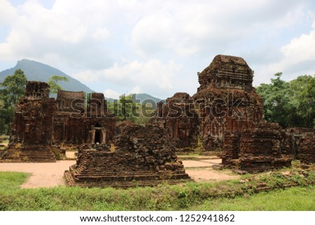 The My Son temple complex is regarded one of the foremost Hindu temple complexes in Southeast Asia and is the foremost heritage site of this nature in Vietnam.